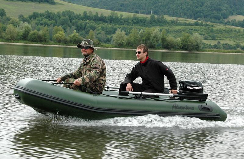 Лодка ПВХ SibRiver Таймыр-290К (киль)