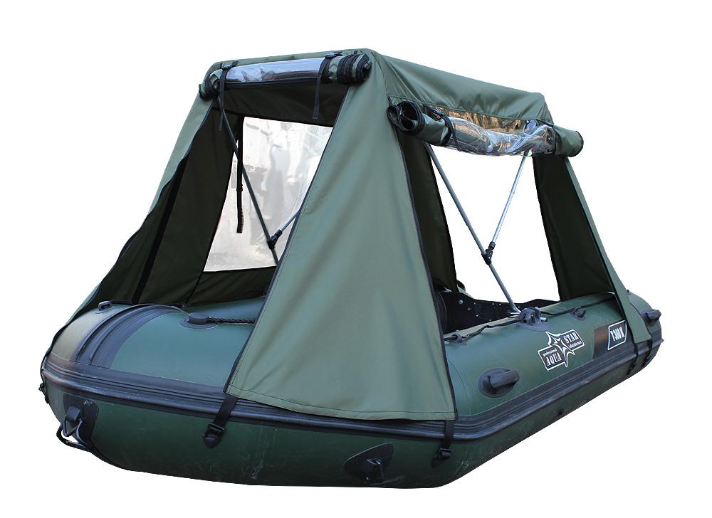 тент-шатер для лодки